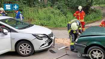Siegen/Kreuztal: Kohlenbergstraße nach Unfall gesperrt - Westfalenpost