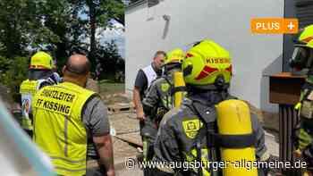 24-Stunden-Einsatz für Feuerwehr bei Brand im Krematorium - Augsburger Allgemeine