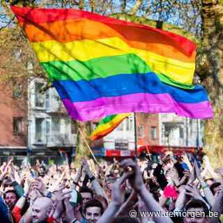 Nederlandse supporters moeten regenboogvlaggen inleveren in fanzone Boedapest