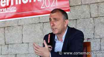 Jean-Christophe Angelini, dernier meeting à 19 heures à Porto-Vecchio - Corse-Matin