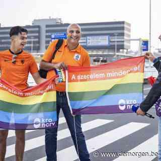 UEFA buigt na ophef: regenboogvlaggen tóch welkom in stadion