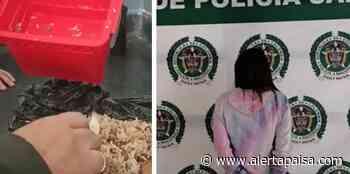 """[Video] Escondía en la coca del """"calentao"""" dosis de cocaína, bazuco y marihuana, en Sabaneta - Alerta Paisa"""