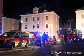 Kellerbrand in Limbach-Oberfrohna: Polizei ermittelt wegen Brandstiftung - Freie Presse