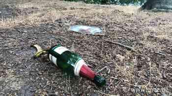 Ordnung und Sicherheit: Streifen am Liepnitzsee und in Wandlitz gegen Müll, Falschparker, illegale Lagerfeuer und Camper - moz.de