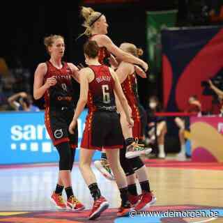 Belgian Cats zijn klasse beter dan Wit-Rusland en pakken net als in 2017 brons op EK basketbal