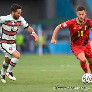 0-0: België en Portugal houden elkaar voorlopig in evenwicht in 1/8ste finale op EK