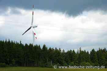 Windrad an der Olpenhütte soll Zuwachs erhalten - Lenzkirch - Badische Zeitung