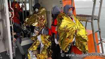 Bray-Dunes: 32 migrants secourus ce samedi matin - La Voix du Nord