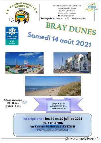 Sortie à Bray Dunes Centre social de l'avenir samedi 14 août 2021 - Unidivers