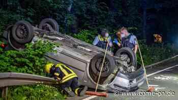Kollision mit Leitplanke: 22-Jähriger nach Verkehrsunfall bei Meinerzhagen schwer verletzt - come-on.de
