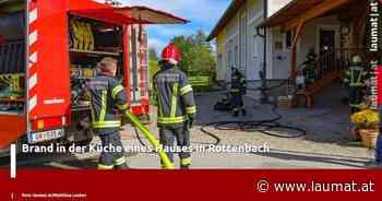 Brand in der Küche eines Hauses in Rottenbach - laumat|at