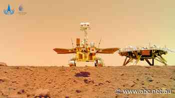 China releases first video from Zhurong Mars rover