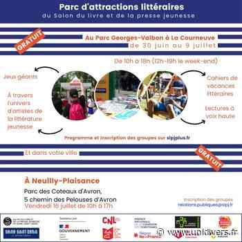 Parc d'attractions littéraires : ParcoMobile – Neuilly-Plaisance Parc des Coteaux d'Avron vendredi 16 juillet 2021 - Unidivers