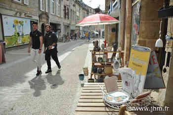 Langres : la rue Jean-Roussat retrouve des couleurs après les travaux - le Journal de la Haute-Marne