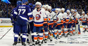 For the Revitalized Islanders, Another 'Heartache,' Another Almost