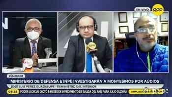 """Pérez Guadalupe en contra de trasladar a Montesinos a otra prisión: """"La Base Naval es la más segura del país"""" - RPP Noticias"""