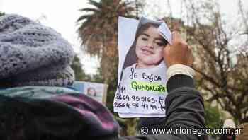 Las pistas sobre la búsqueda de Guadalupe Lucero apuntan a una red de trata o a un ataque sexual - Diario Río Negro