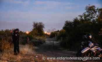 La búsqueda en un campo cercano a la casa donde desapareció Guadalupe no dio resultados - El Diario de la República
