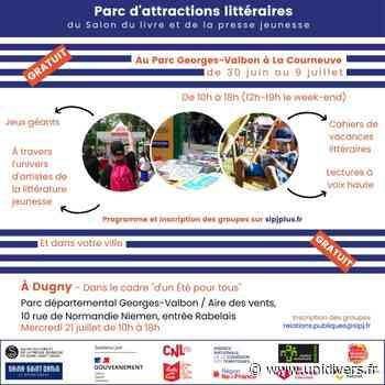 Parc d'attractions littéraires : ParcoMobile – Dugny Parc départemental Georges-Valbon / Aire des vents mercredi 21 juillet 2021 - Unidivers