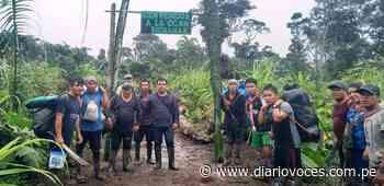 Expedicionarios de Balsapuerto dirigidos por su alcalde logran travesía hasta Moyobamba - Diario Voces