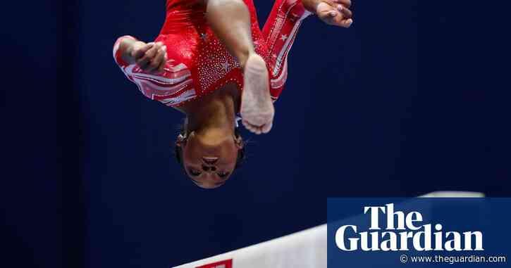Simone Biles overcomes rocky night to lock down US Olympic team spot