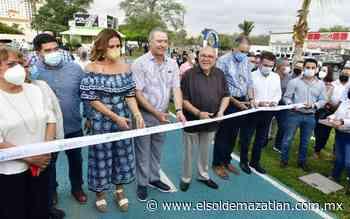 Quirino inaugura la nueva ciclovía de Cerritos - El Sol de Mazatlán