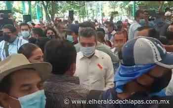 Maestros dialogan con Rutilio Escandón en parque Los Cerritos - El Heraldo de Chiapas