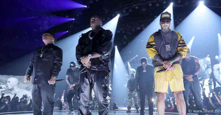 Swizz Beatz, Busta Rhymes and more deliver incredible DMX tribute at BET Awards 2021 - REVOLT TV
