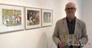 Meerbusch: Kunstgalerie stellt Bilder von Arandus für ein Kinderbuch aus - Westdeutsche Zeitung