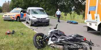 Morsbach: 17-Jähriger Motorradfahrer schwer verletzt - Kölnische Rundschau