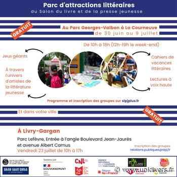 Parc d'attractions littéraires : ParcoMobile – Livry-Gargan Parc Lefèvre vendredi 23 juillet 2021 - Unidivers