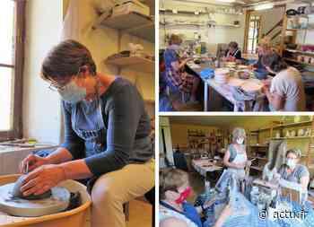 Magny le Hongre : L'Atelier de Paix, un havre pour la poterie et la sculpture - actu.fr