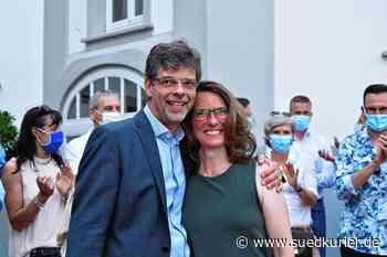 Markdorf: Klares Votum im ersten Wahlgang: Georg Riedmann bleibt Bürgermeister in Markdorf - SÜDKURIER Online