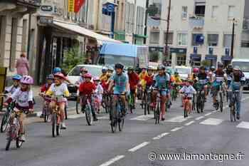 125 enfants au rendez-vous d'Issoire fait son mini-tour ce dimanche matin dans les rues de la ville - La Montagne