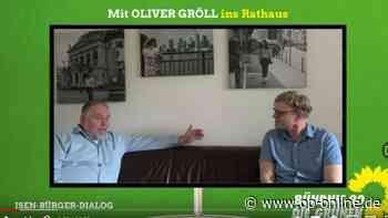 """Bürgermeisterwahl in Neu-Isenburg: Oliver Gröll (Grüne) startet mit """"Isen-Bürger-Dialog"""" in den Wahlkampf - op-online.de"""