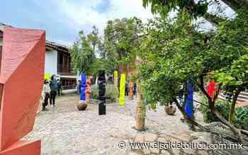 Inauguran exposición artística de Aldo Chaparro en Valle de Bravo - El Sol de Toluca