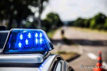 Unfall auf der A 7 bei Herbrechtingen: Pkw kommt von Fahrbahn ab, überschlägt sich und gerät in Brand - Heidenheimer Zeitung