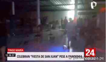 Tingo María: intervienen 'privaditos' y fiestas clandestinas por San Juan - Panamericana Televisión