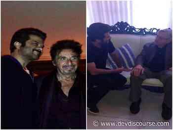 Anil Kapoor shares throwback pictures with Robert De Niro, Al Pacino - Devdiscourse