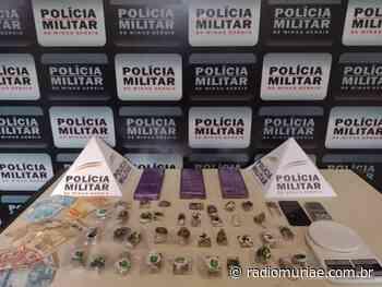 """Carangola: dois homens são presos com drogas e dinheiro durante operação """"Narco Brasil"""" - Rádio Muriaé"""