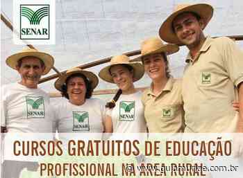 SENAR abre cursos gratuitos em Muriaé, Teixeiras, Miradouro, Palma, Tombos e Carangola - Guia Muriaé