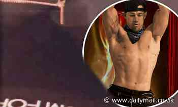 Channing Tatum films himself unzipping his pants to show off his 'classy' Tom Ford underwear - Daily Mail