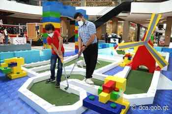 Minigolf: nuevo espacio de diversión en Pradera Vistares - dca.gob.gt