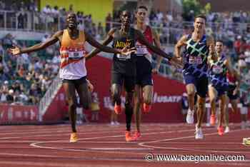 Hillary Bor overcomes nerves, wins steeplechase at trials for 2nd Olympic berth - OregonLive