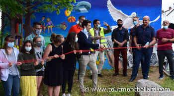 A Bethoncourt, une fresque aux abords du collège par des jeunes - ToutMontbeliard.com