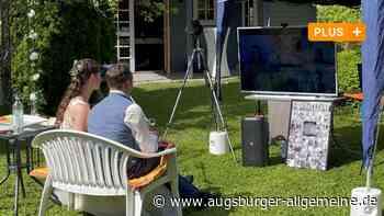 In Kaufering heiratet ein Paar vor dem Fernseher - Augsburger Allgemeine