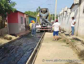 Alcaldía de Sitionuevo y DPS firman convenio para pavimentación de vías - El Informador - Santa Marta