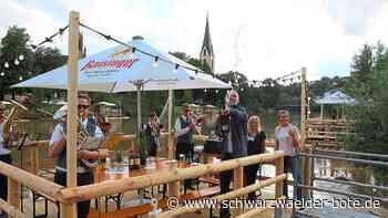 Die Party steigt in Rottenburg auf den Flößen - Das Neckarfest fällt dieses Jahr klein aber fein aus - Schwarzwälder Bote
