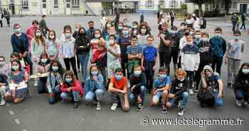À Plouay, les 6e de Saint-Ouen animent le self - Le Télégramme