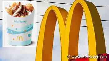 Macca's announces new 'Aussie' McFlurry